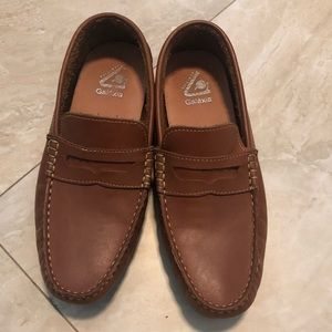 Leather Loafers size 7 youth / men's